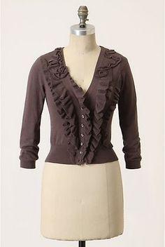 Adventures in Dressmaking: Romantic drapey sweater makeover tutorial