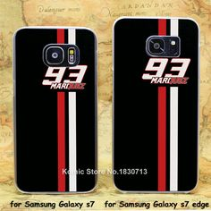marc marquez 93 mm93 Pattern hard transparent clear Cover Case for samsung galaxy s3 s4 s5 mini s6 s7 edge