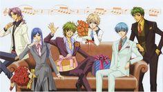 Kanazawa, Yunoki, Hihara, Shimizu, Tsukimori and Tsuchiura - present