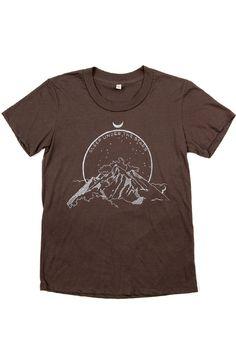 Women's Sleep Under Stars Blackwash T-Shirt