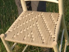 Another woven Irish pattern in natural Danish cord