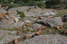 Punic tophet at Sant'Antioco   Flickr - Photo Sharing!