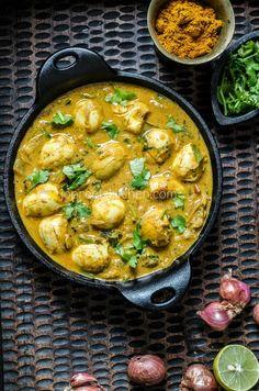 Quail Eggs Curry