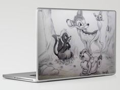 *NEW* Bambi Laptop & iPad Skin by Lynsie Petig - $25.00