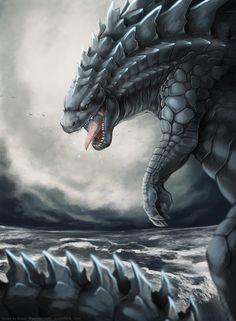Godzilla by FlyQueen.deviantart.com on @deviantART