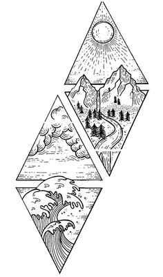 Four elements graphic tattoo diy best tattoo images You can find Tattoo designs and more on our website.Four elements graphic tattoo diy best tattoo images Element Tattoo, Form Tattoo, Diy Tattoo, Tattoo Ideas, Art Deco Tattoo, Tattoo Fonts, Tattoo Quotes, Cool Art Drawings, Pencil Art Drawings