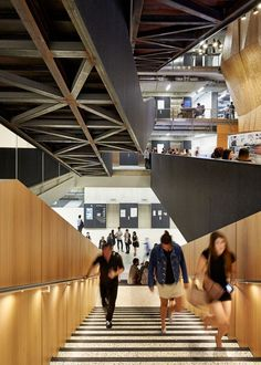 [Health & Education] Melbourne School of Design, The University of Melbourne; Melbourne / John Wardle Architects and NADAAA in collaboration.