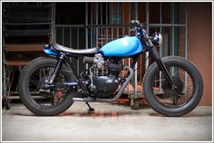 1973 Honda XL285 - Pipeburn - Purveyors of Classic Motorcycles, Cafe Racers & Custom motorbikes