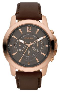 Fossil Chronograph Watch   Nordstrom