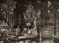 Cabinetul de lucru al Regelui Carol I. Peleş, Sinaia. Royals, Architecture, Photography, Painting, Houses, Romania, Arquitetura, Photograph, Fotografie