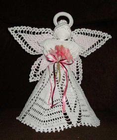 crochet angel #3