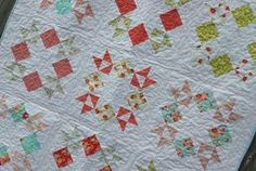 Stacks of Stars Quilt
