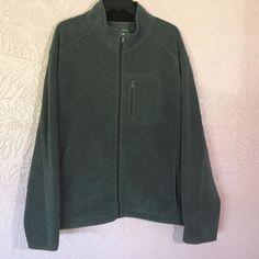 St. John's Bay Fleece Jacket Mens Size 3XL Gray Zip Pockets Full Zip  #StJohnsBay #FleeceJacket #designsbym #ebay