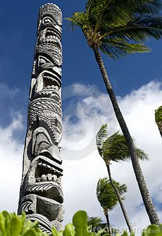 hawaiian totem poles - Google Search