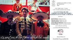 """El Foro Taurino del Casino de Agricultura de Valencia ha organizado una mesa redonda, el próximo jueves 9 de junio a las siete y media de la tarde, que bajo el título """"La aventura de ser torero allende los mares"""" abordará diferentes experiencias vividas tanto en Perú como en México contadas por sus propios protagonistas. …"""