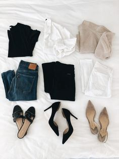 Wardrobe Refresh: Must-haves and Closet Essentials I Think Everyone Should Own - Stylish OMG Mode Outfits, Fall Outfits, Summer Outfits, Casual Outfits, Fashion Outfits, Summer Clothes, Fashion Mode, Womens Fashion, Fashion Trends