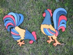 gallos intarsia - Mis obras - User Gallery - Scroll Saw Village