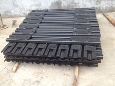 Steel Sleeper Product Introduction Steel Sleeper is use to production of coal mine underground scraper conveyor and reproduced machine with central not back. Steel Sleeper with high quality and competitive prices popular all over the world. Sizes: D15, M15, M18, E19, M22