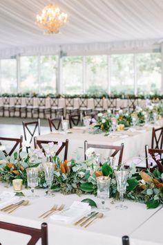 Long tables: http://www.stylemepretty.com/little-black-book-blog/2015/03/26/elegant-lowndes-grove-plantation-wedding-2/ | Photography: Aaron & Jillian - http://www.aaronandjillian.com/