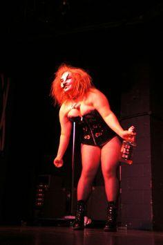 Pole Dance and Burlesque Show 2013. Crazy Hair. Jack Daniels. Sheffield Hallam University. Photographer. - Hayley Clare Lightfoot