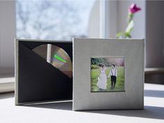 Płyta CD/DVD + ramka na zdjęcie.