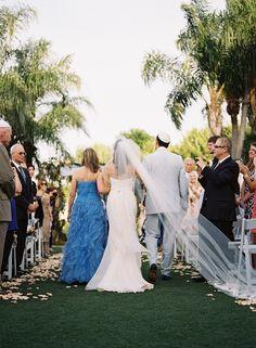 outdoor Florida ceremony | Kat Braman #wedding