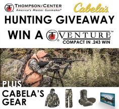 I just entered the T/C® Cabela's® Hunting Giveaway. Enter now: http://bit.ly/TC-Cabelas-Sweeps   #tcarms #thompsoncenter #cabelas #hunting #tcventure