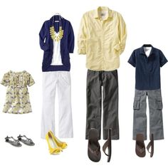 Cute what to wear example...all from OLD NAVY.