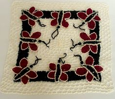 Butterfly Doily by NoveltyandThings on Etsy, $22.00