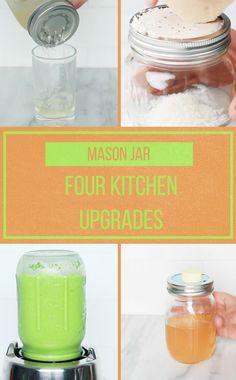 4 Mason Jar Kitchen Hacks 🙌