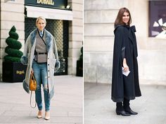 Style Guides: Haute Couture S/S 2014: Street Style Coats