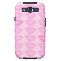 Pink Lips Galaxy S3 Covers