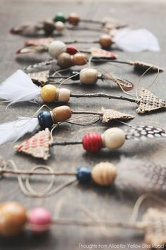DIY Rustic Boho Twig Arrow Ornaments