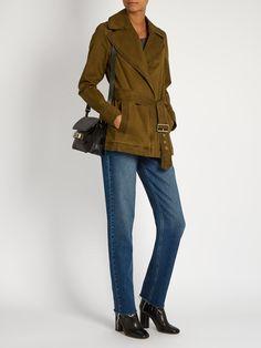 Wills belted cotton-blend gabardine jacket | A.L.C. | MATCHESFASHION.COM