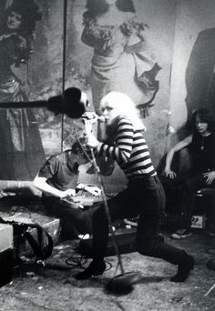 Blondie, CBGB's, 1977 - The legendary CBGB's. if you were a music fan back then you know all about CBGB's.