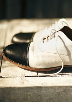 Black Tip Oxfords