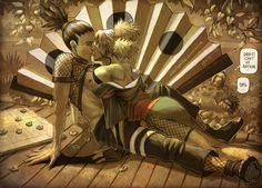 Shikamaru Temari - Shadow kiss by KejaBlank on @DeviantArt