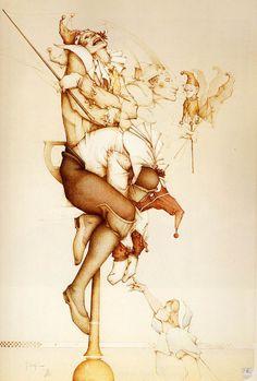 Marieaunet | Michael Parkes