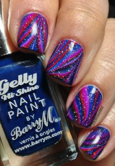 This remind to me Willy Wonka, so many fabolous colors.             Love                  AG