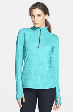 Free shipping and returns on Nike 'Element' Half Zip Top at Nordstrom.com. Long-sleeve running top is cut from a sueded Dri-FIT fabric that helps wick away moisture and maintains core warmth for breathable dry comfort.