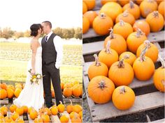 Fall wedding by Katie Nesbitt Photography