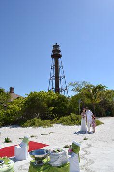 Sanibel Lighthouse Hochzeit