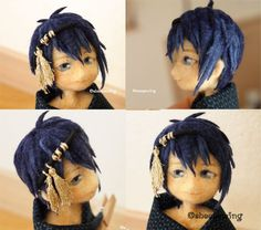 Needle felted doll mikazuki_munechika . by sheeps-wing on DeviantArt