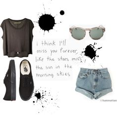"""""""Skater Style :)"""" by p-erplexx ❤ liked on Polyvore"""