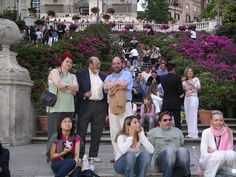 Plaza de España - Roma, Italia
