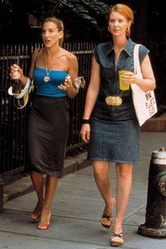 Pin for Later: 6 Mal, als sich Carrie und Miranda wie Carrie und Miranda verhielten 2. Als sie ihre Outftis koordinierten