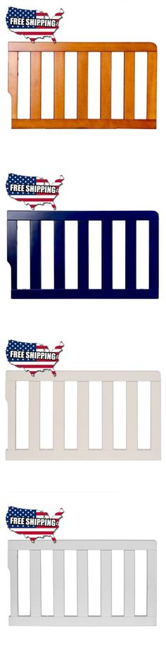 Bed Rails 162183 Dream On Me Universal Convertible Crib Toddler Guard Rail White