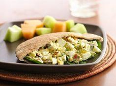 Egg pita - family favorite! Click for recipe