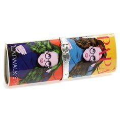 Pap? Razzi 'Pippa' Magazine Clutch Red/ Multi