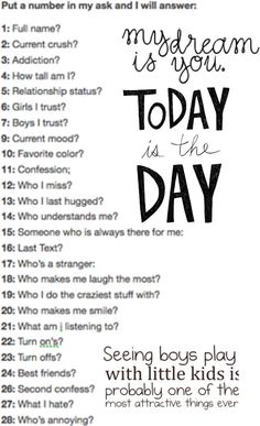 ask me anything on this post or even if you dont see a question that you want to ask feel free to ask and i will answer. :) anything dont be shy! I am finally doing one of these. Lol no one's going to comment Do You Know Me, Love You All, Getting To Know You, How Tall Am I, Questions To Ask, Dating Questions, Question Game, Chat Board, Ask Me Anything